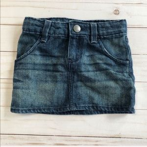 BabyGap Mini Denim Skirt